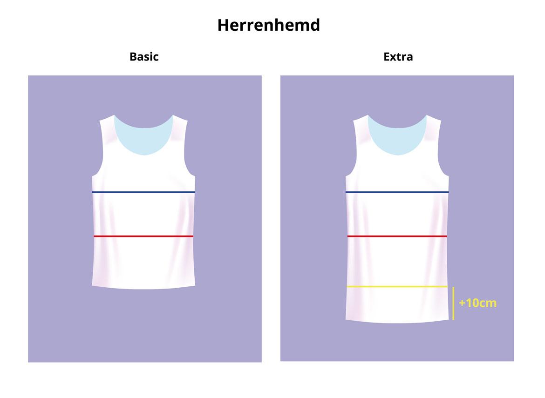 Herrenhemd Basic-Extra